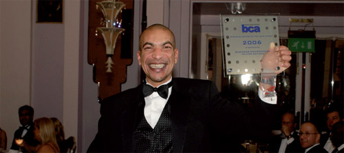 BCA Business Centre of the Year John Edwards