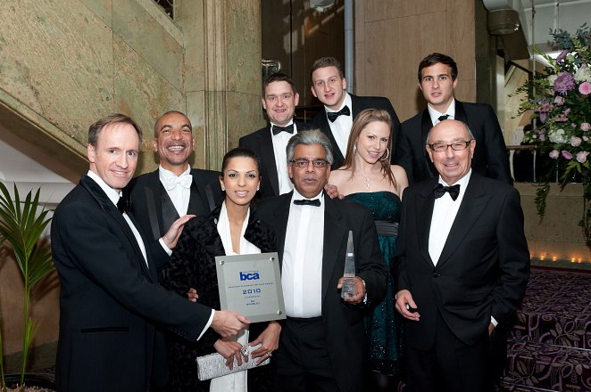 Business Environment win the Business Centre of the Year 2010