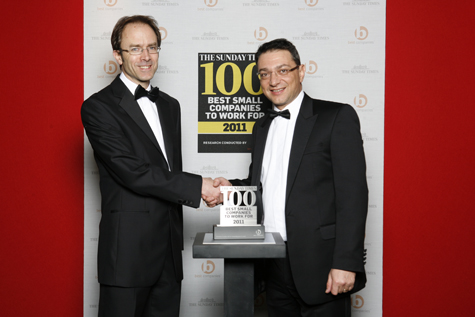 Sunday Times Best Companies to Work for 2011