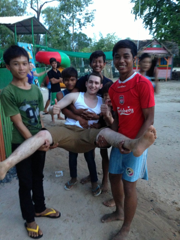 Volunteering at an Orphanage in Cambodia