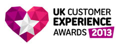 UK Customer Experience Awards 2013