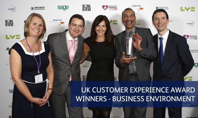 UK Customer Experience Awards Winners