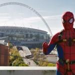 Spiderman at Wembley