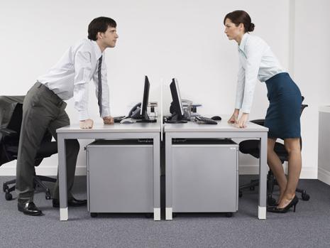 Office desk hierarchy