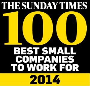 Sunday Times Top 100 Employer for Seventh Year Running!