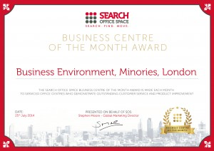 SOS Business Centre of the Month