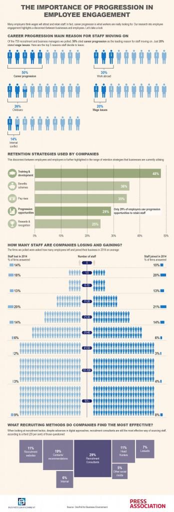 Recruitment Survey Infographic