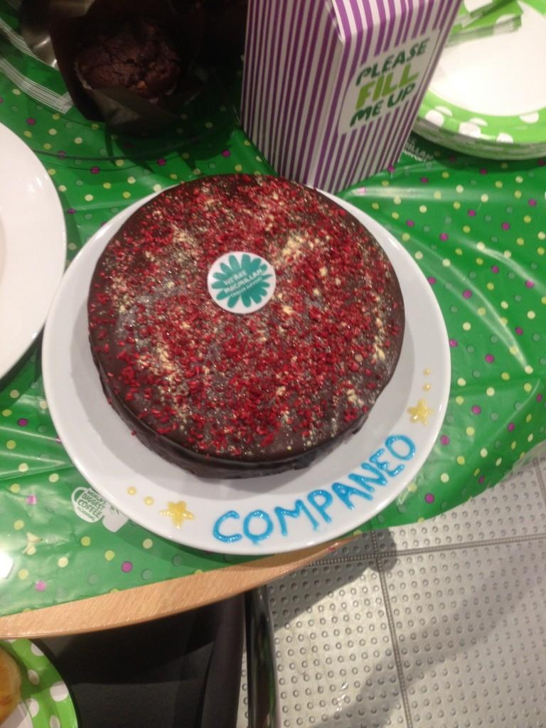 Cakes at BE's Macmillan Coffee Morning raises £1678
