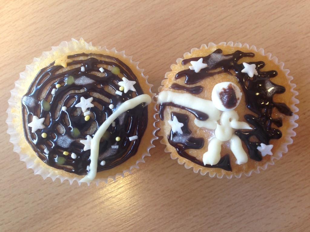 Cupcakes at BE's Macmillan Coffee Morning raises £1678