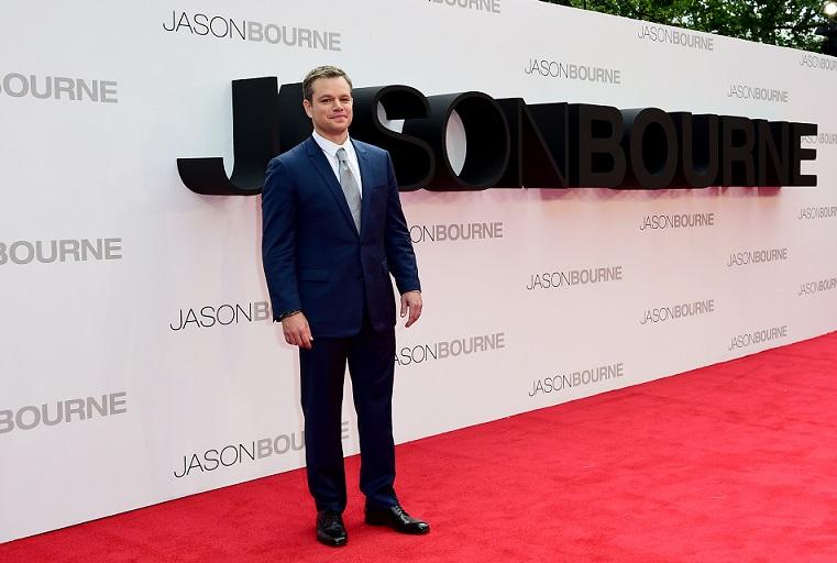 Jason Bourne European Premiere - London