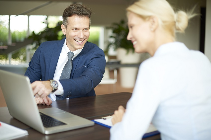 Receiving advice and guidance from an accountant