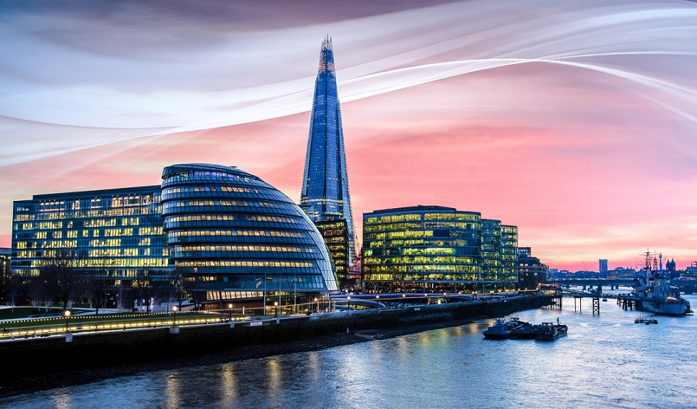 City Hall, the Shard and the Thames