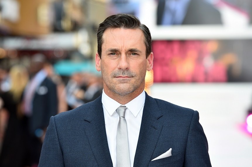 Jon Hamm attending the Baby Driver premiere held at Cineworld in Leicester Square, London.