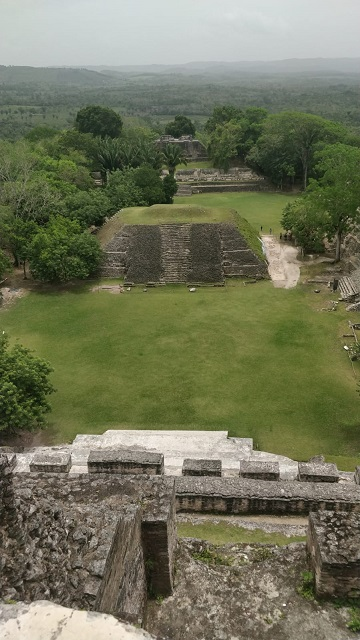 Views at the Mayan Ruins