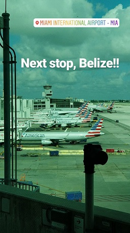 Belize 2018 volunteer trip - Day 1 - planes, trains and automobiles... oh and golf buggies too!