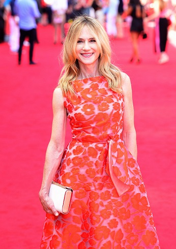 Holly Hunter arrives at the UK premiere of Incredibles 2 at BFI Southbank in London